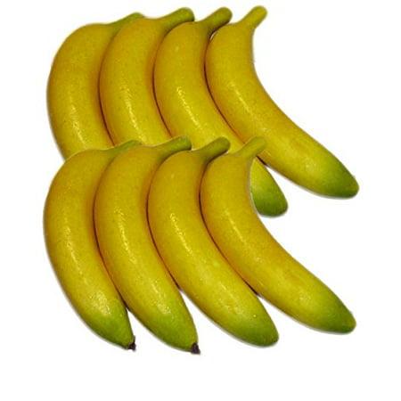 Thru Valve - Artificial Bananas for Decoration - Set of 8