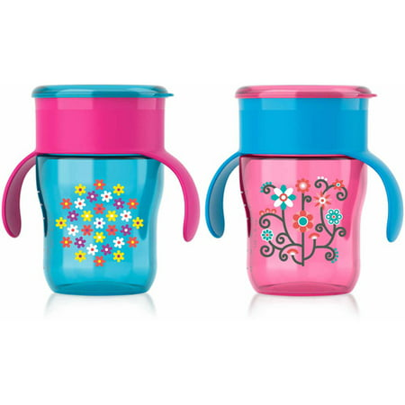 Philips Avent My Natural Drinking Cup Spoutless Sippy Cup - 2 pack