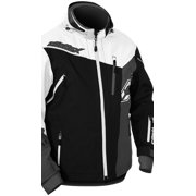 Castle X Racewear Rival Mens Snowmobile Jacket Black/White
