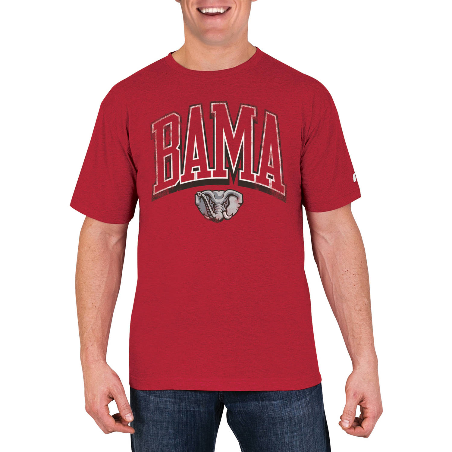 NCAA Alabama Crimson Tide Men's Cotton/Poly Blend T-Shirt