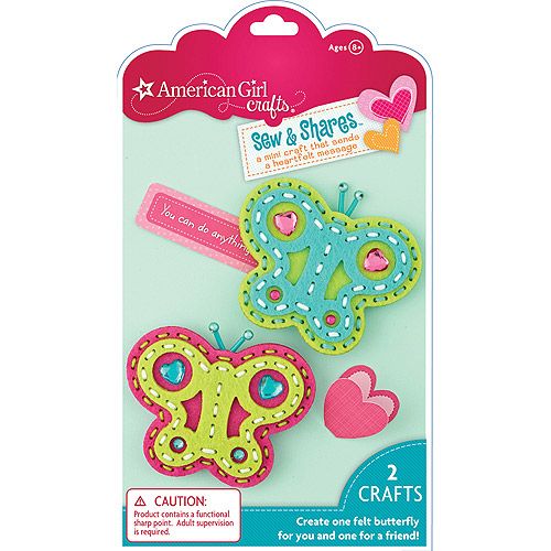 American Girl Sew and Shares Kit, Butterflies