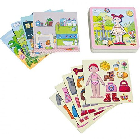 Dress Up Lilli Magnetic Game   Travel Game By Haba  7392