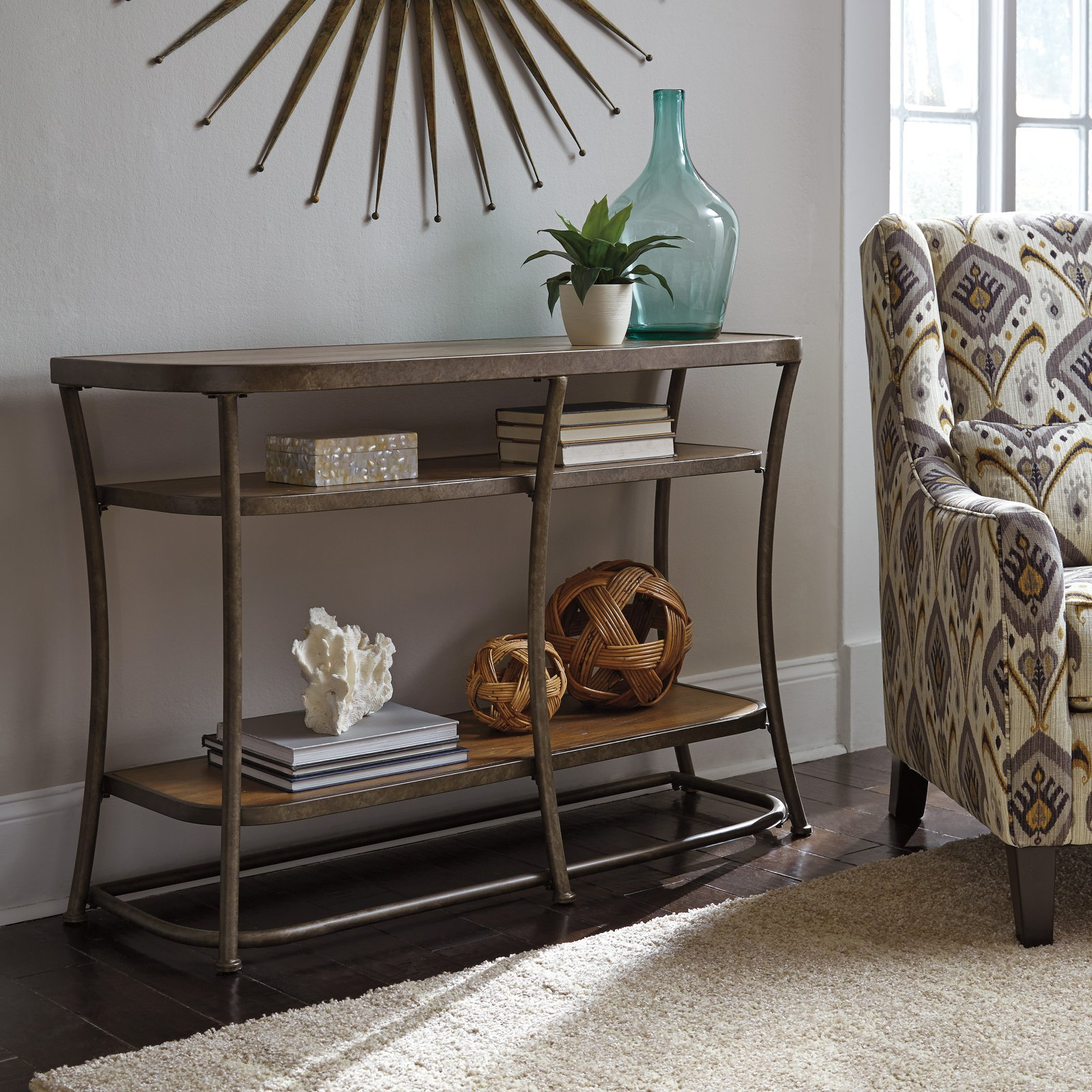 Signature Design by Ashley Nartina Sofa Table by Ashley Furniture
