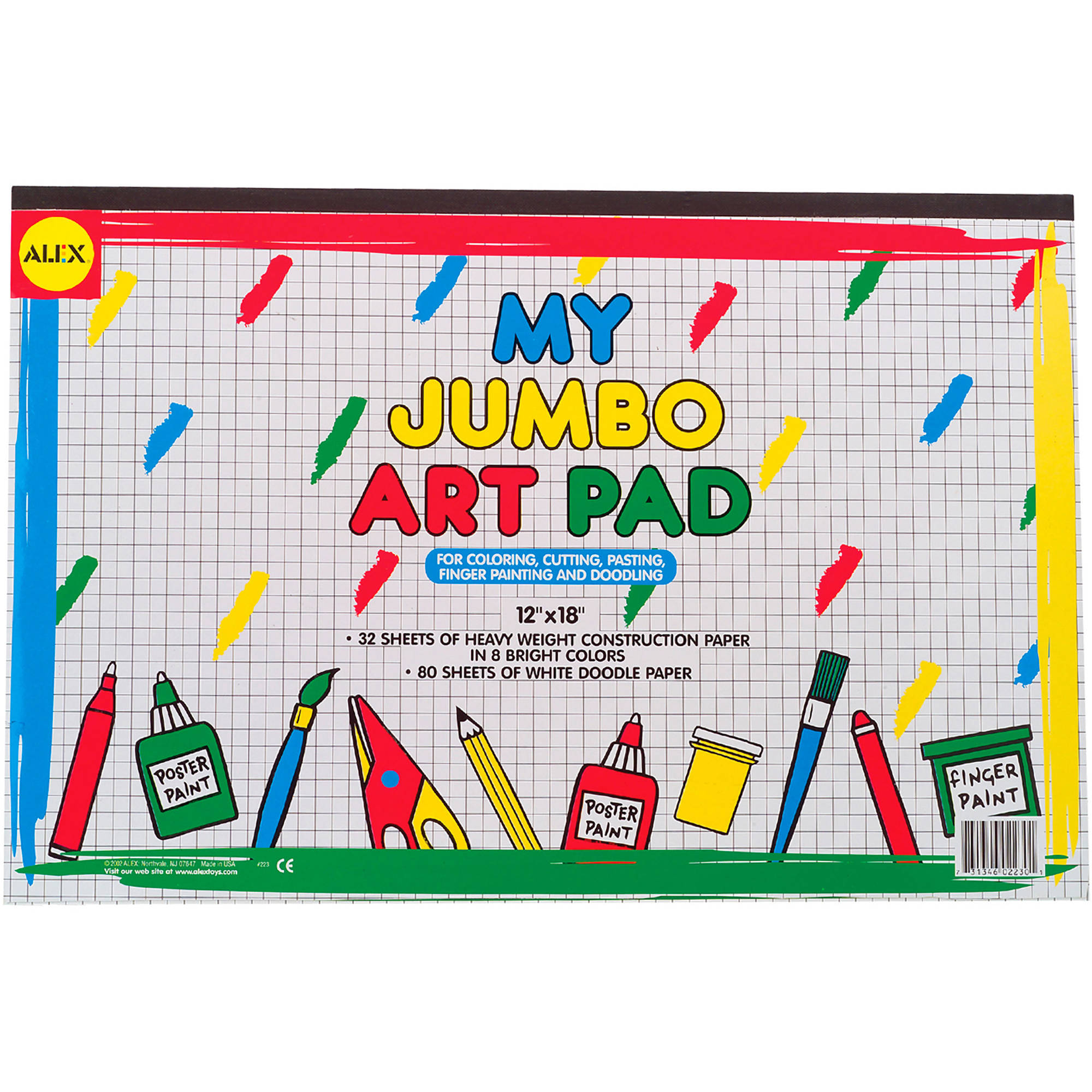 ALEX Toys Artist Studio My Jumbo Art Pad by Alex Brands