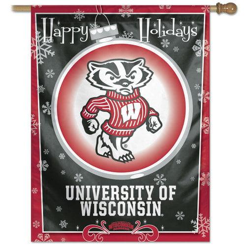 Wincraft, Inc. NCAA ''Happy Holidays'' Flag
