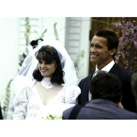 Arnold Schwarzenegger And Maria Shrivers Wedding Photo Print