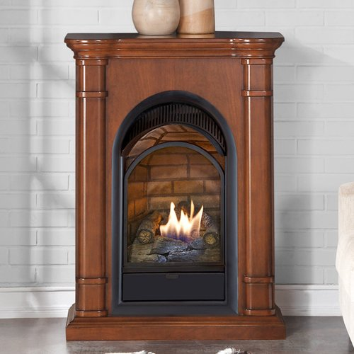 Duluth Forge Dual Fuel Ventless Natural Gas/Propane Firep...