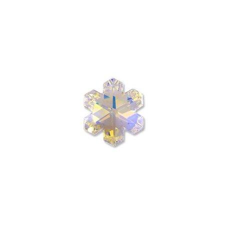 Swarovski Snowflake Pendant 6704 30mm Crystal AB - Christmas Holiday