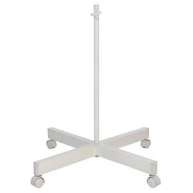 Daylight Company U53030 4 Spoke Floorstand  White
