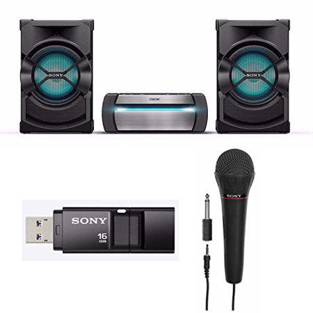 Sony SHAKEX10 High Power Home Audio System with Sony Mic and 16GB USB (Sony High Power Home Audio System With Bluetooth)