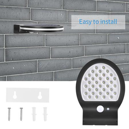 36 LED Solar Power Motion Sensor Garden Security Lamp Outdoor Waterproof Light