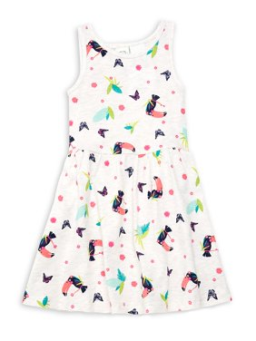 Little Girl's Printed Skater Dress