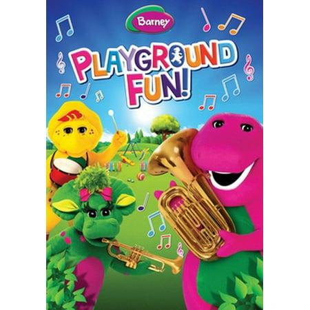 Barney: Playground Fun (DVD) (Playground Dvd)