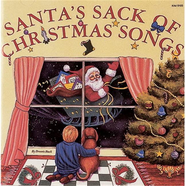 Kimbo Educational KIM9105CD Santas Sack Of Christmas Songs Musical CD by Kimbo Educational