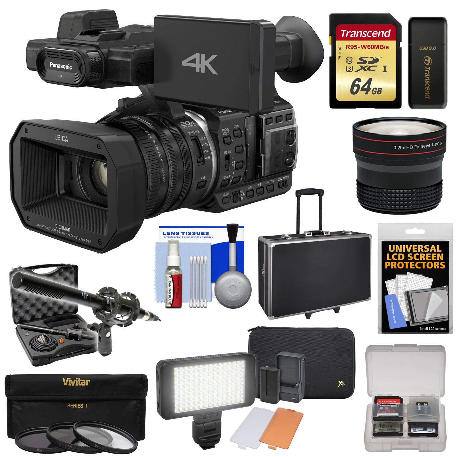 Panasonic HC-X1000 4K Ultra HD Wi-Fi Video Camera Camcord...