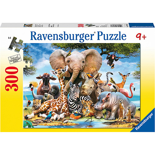 Ravensburger African Friends Puzzle, 300 Pieces