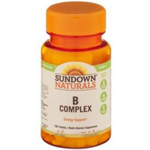 Vitamins & Supplements: Sundown Naturals B Complex