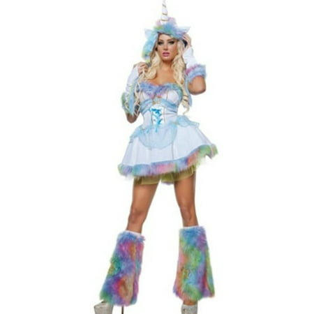 Unicorn Fantasy Costume S3309 Starline White - Fantasy Costumes