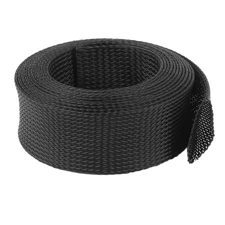 45mm PET Cable Wire Wrap Expandable Braided Sleeving 3 Meter - image 2 of 2