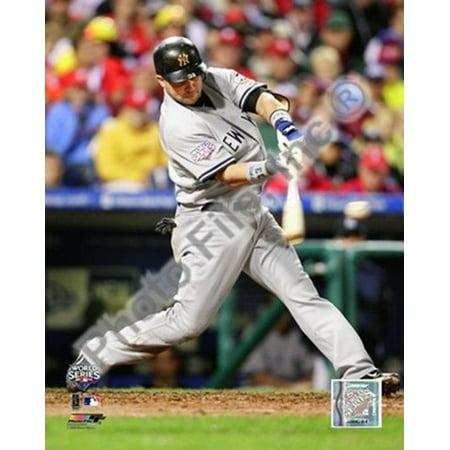 Nick Swisher Game three of the 2009 MLB World Series 2 Run Home - Nick Swisher White Sox