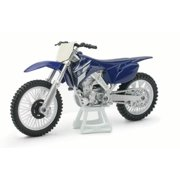 1:18 Scale Die-Cast Motorcycle Blue Yamaha YZ 450F by New-Ray Toys Co., Ltd.