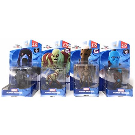 Disney Infinity: Marvel Super Heroes (2.0 Edition) Groot, Yondu, Ronan & Drax Figures Guardians Of The Galaxy - Not Machine Specific](Super Grover 2.0)