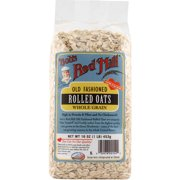Bob's Red Mill Old Fashioned Rolled Oats, 16 oz (Pack of 4)