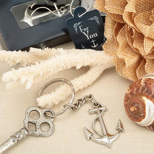 FashionCraft 96 Ocean Themed Anchor Key Chain Favor