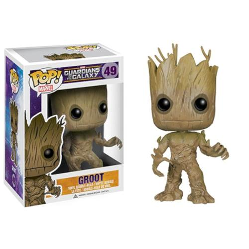 POP Marvel Guardians of the Galaxy - Groot Vinyl Bobble Figure (Gift Idea)
