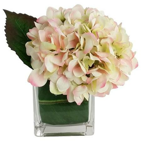 RG Style Artificial Silk Hydrangea Floral Arrangements in Decorative - Artificial Floral Arrangements