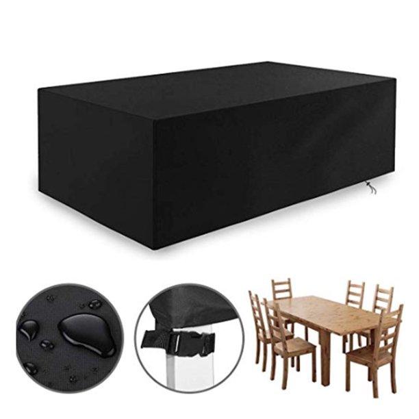 water resistant 95inch rectangular patio table chair set cover patio chair cover patio furniture cover indoor outdoor storage cover