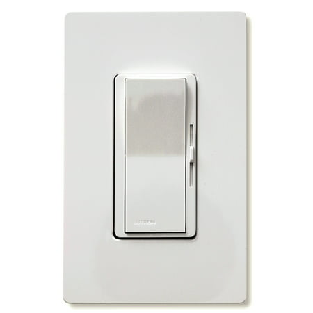 Lutron DVW600PH-WH White Diva® Duo Dimmers Diva Satin Colors Dimmers