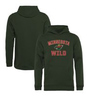 Minnesota Wild Fanatics Branded Youth Victory Arch Pullover Hoodie - Green