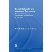 Social Networks and Japanese Democracy - eBook