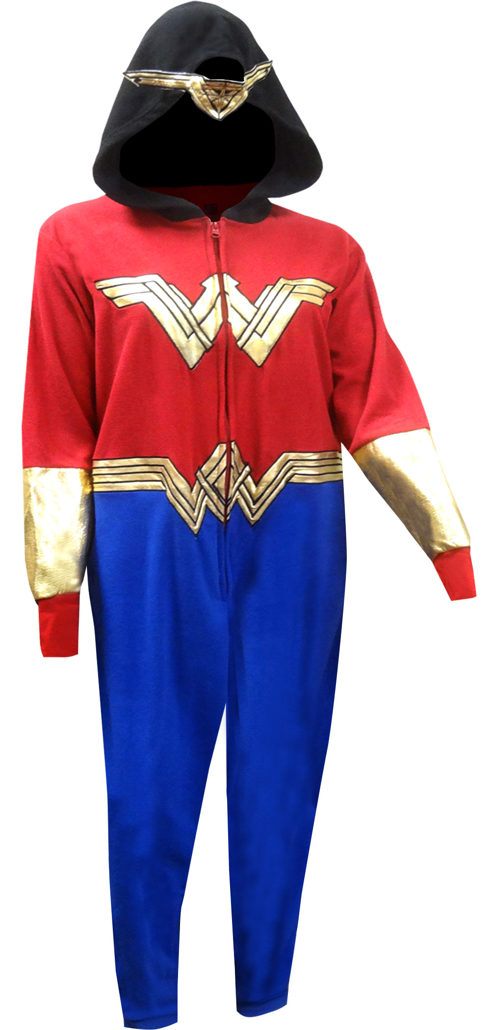 Underboss Wonder Woman Golden Accent Onesie Pajama With