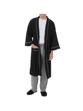 Fruit of the Loom Men's and Big Men's Beyondsoft Waffle Robe
