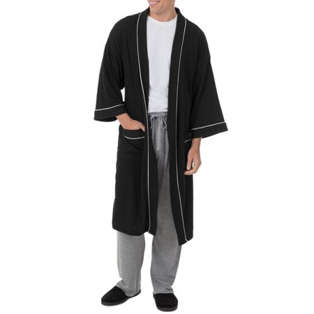 Fruit of the Loom Men's Beyondsoft Waffle Robe - Playboy Robe
