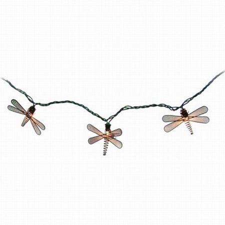 Home Metal Dragonfly String Light Set In Or Out Patio