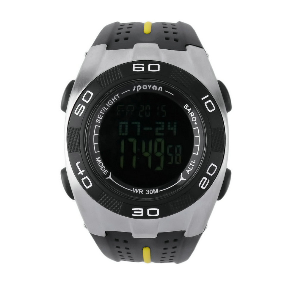 Multifunction Outdoor Sports Altimeter Thermometer Weathe...