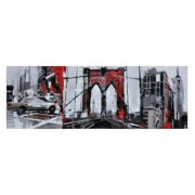 Urban London Canvas Wall Art - 60W x 20H in.