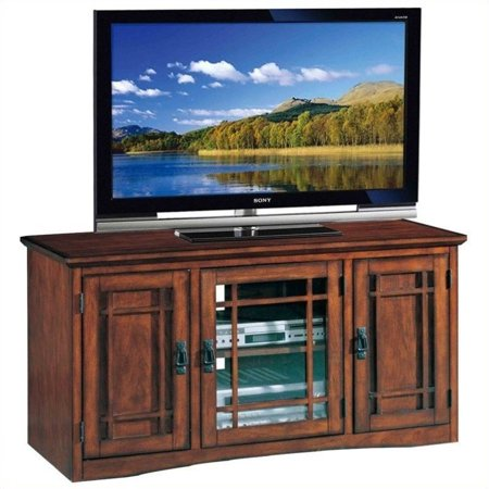 Oak 52 Tv Console (Leick Home Riley Holliday 50