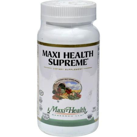 - Maxi Health Supreme Vit and Min - 180 Tablets