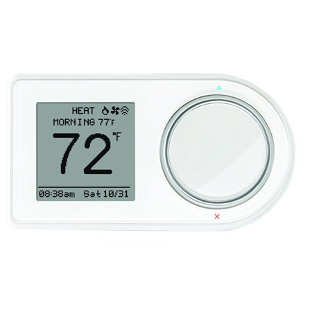 Refurbished LUX GEO-WH-003 7-Day Wi-Fi Programmable Thermostat in (Wi Fi 7 Day Programmable Thermostat Rth6580wf)