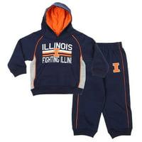 Gen 2 NCAA Kids/Toddlers Illinois Fighting Illini 2-piece Hoodie and Pants Set