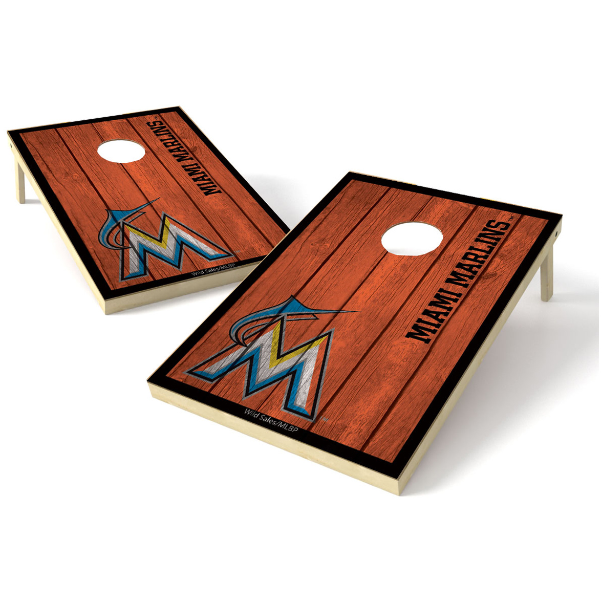 2X3 Shield Game MLB Big Vintage Miami Marlins