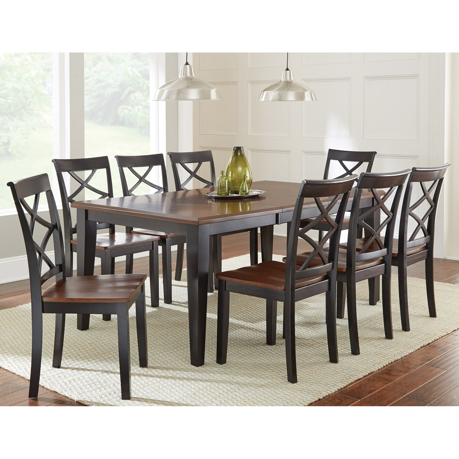Incroyable Steve Silver Rani 9 Piece Dining Table Set   Walmart.com