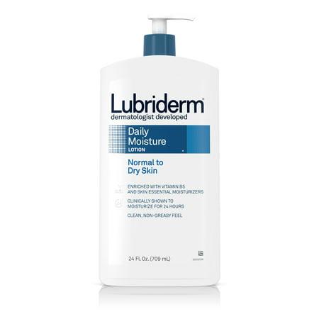 Lubriderm Daily Moisture Hydrating Lotion with Vitamin B5, 24 fl. oz ()