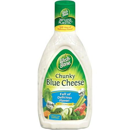 Wish-Bone Chunky Blue Cheese Dressing, 16 fl oz