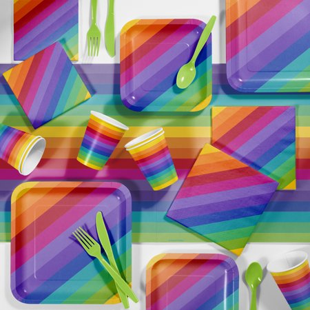 Rainbow Party Supplies Kit](Rainbow Supplies)