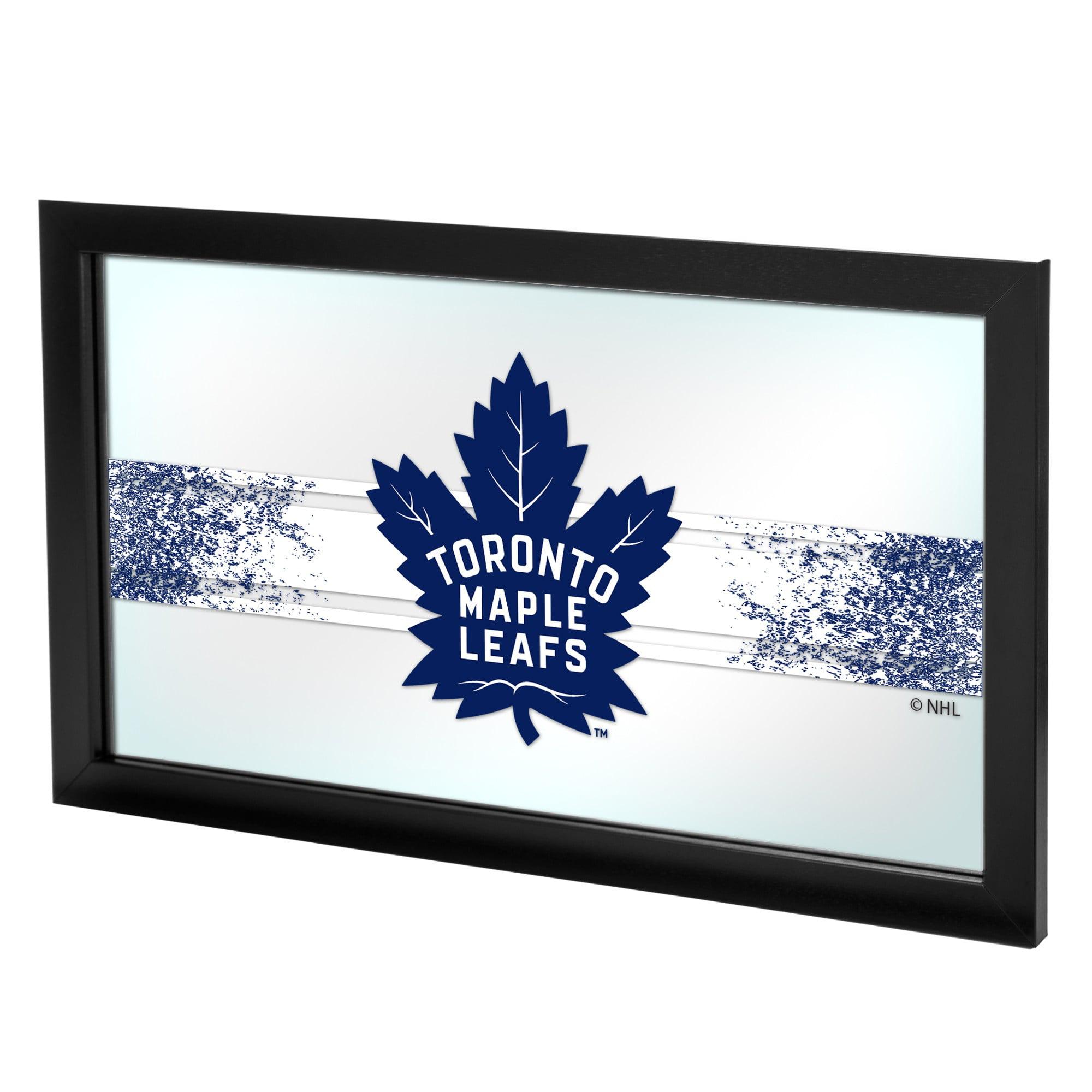 NHL Framed Logo Mirror, Toronto Maple Leafs